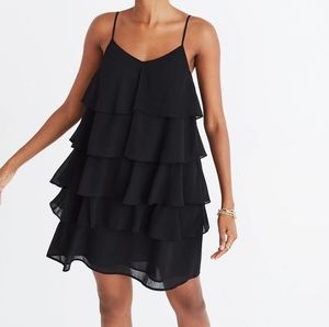 NWOT Madewell Ruffle-Tier Cami Dress